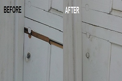 Homested repair garage door